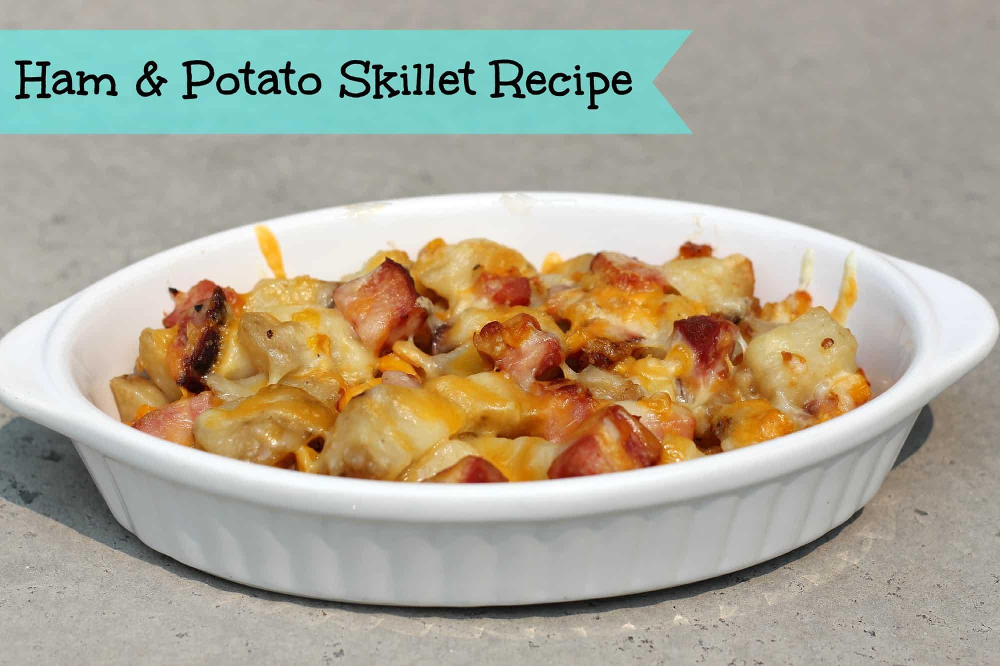 quick and easy meals ham potato skillet recipe. Black Bedroom Furniture Sets. Home Design Ideas