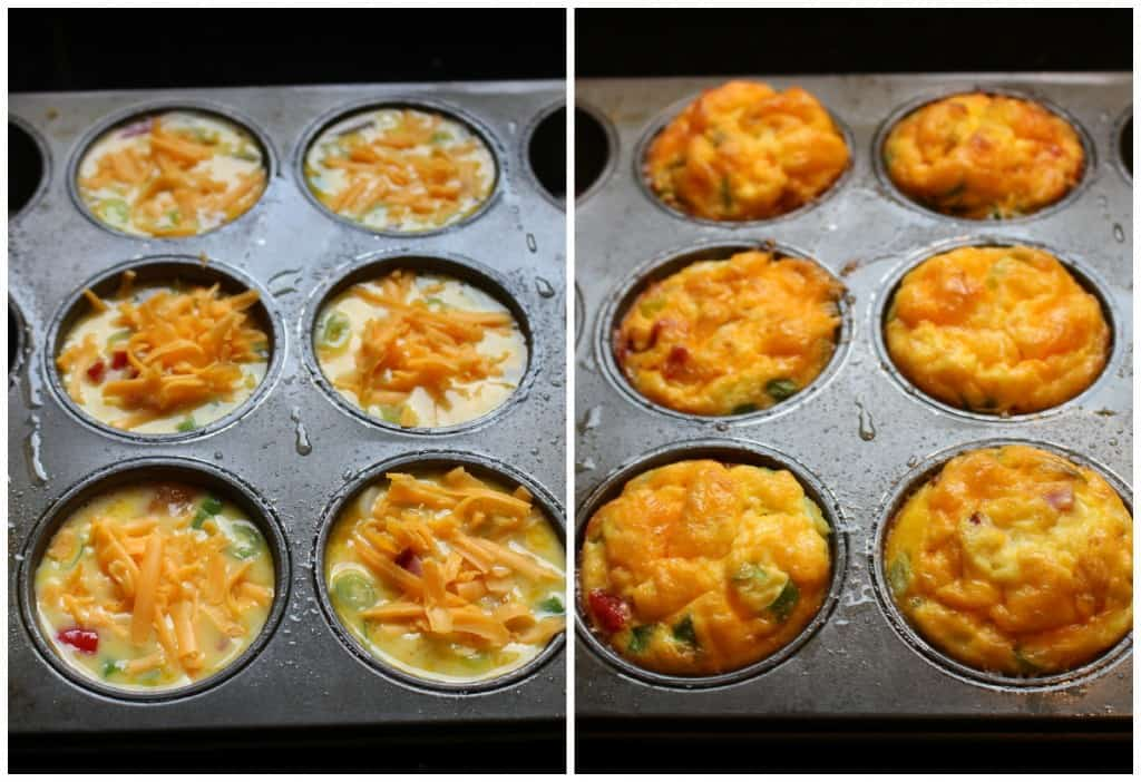 Quick Dinner Ideas Ham Omelet Muffin Recipe
