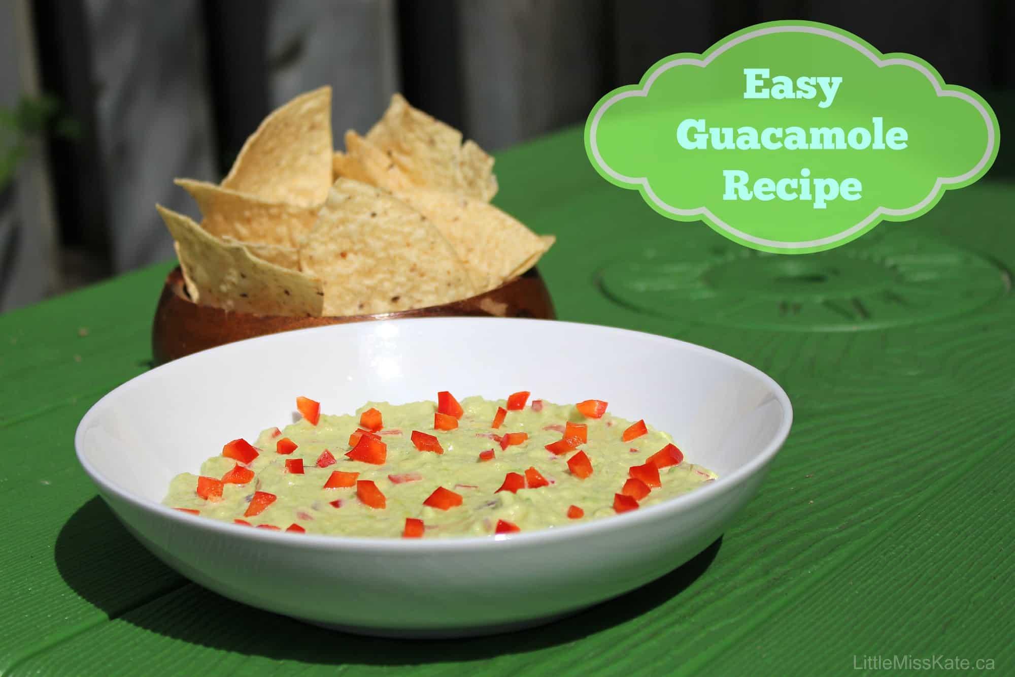 Easy Guacamole Recipe – A Summertime Favourite