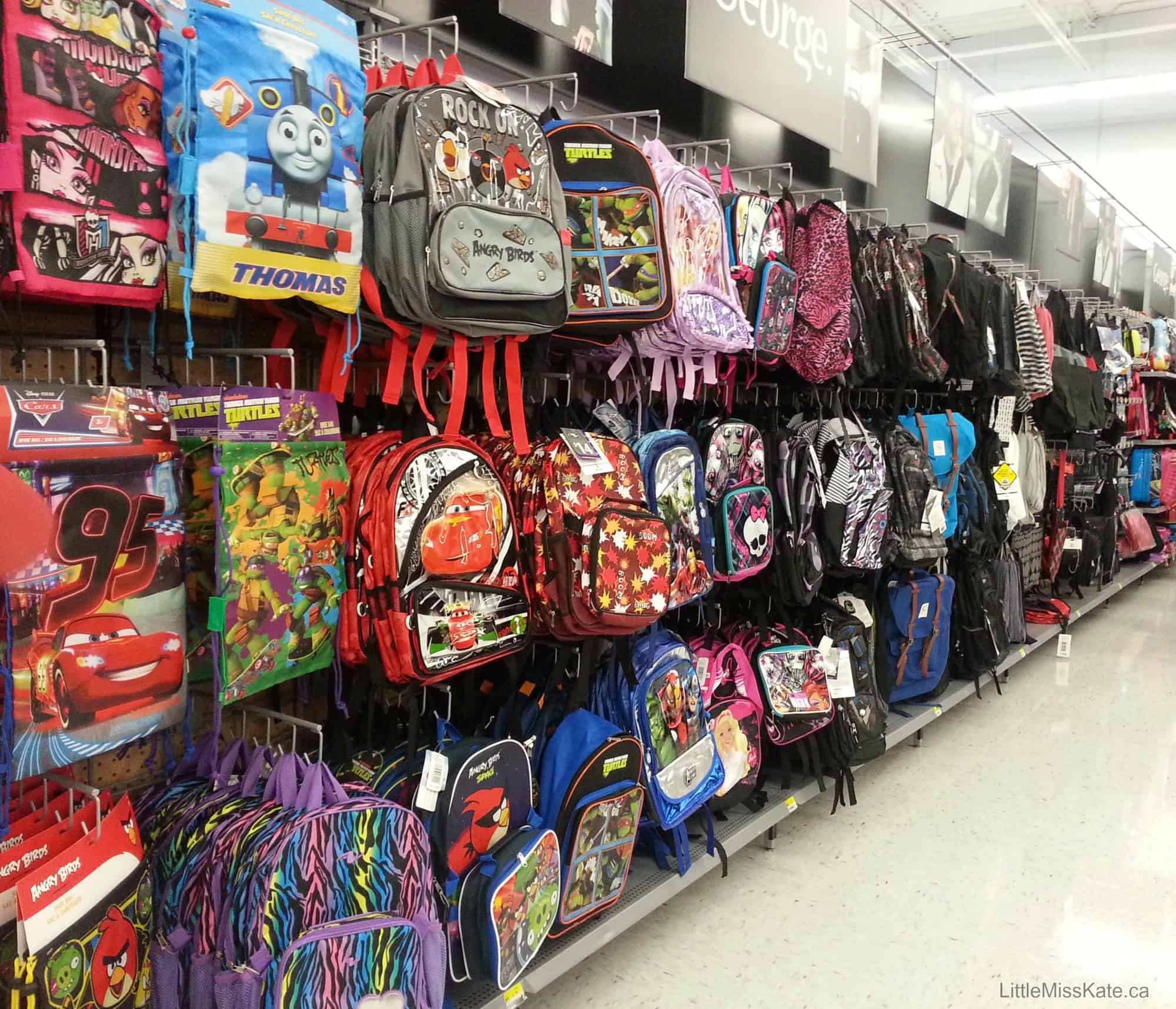 Back To School Shopping Deals At Walmart And Remembering