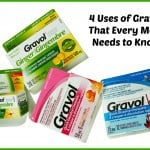 4 Uses of Gravol That Every Mom Needs to Know {Giveaway}