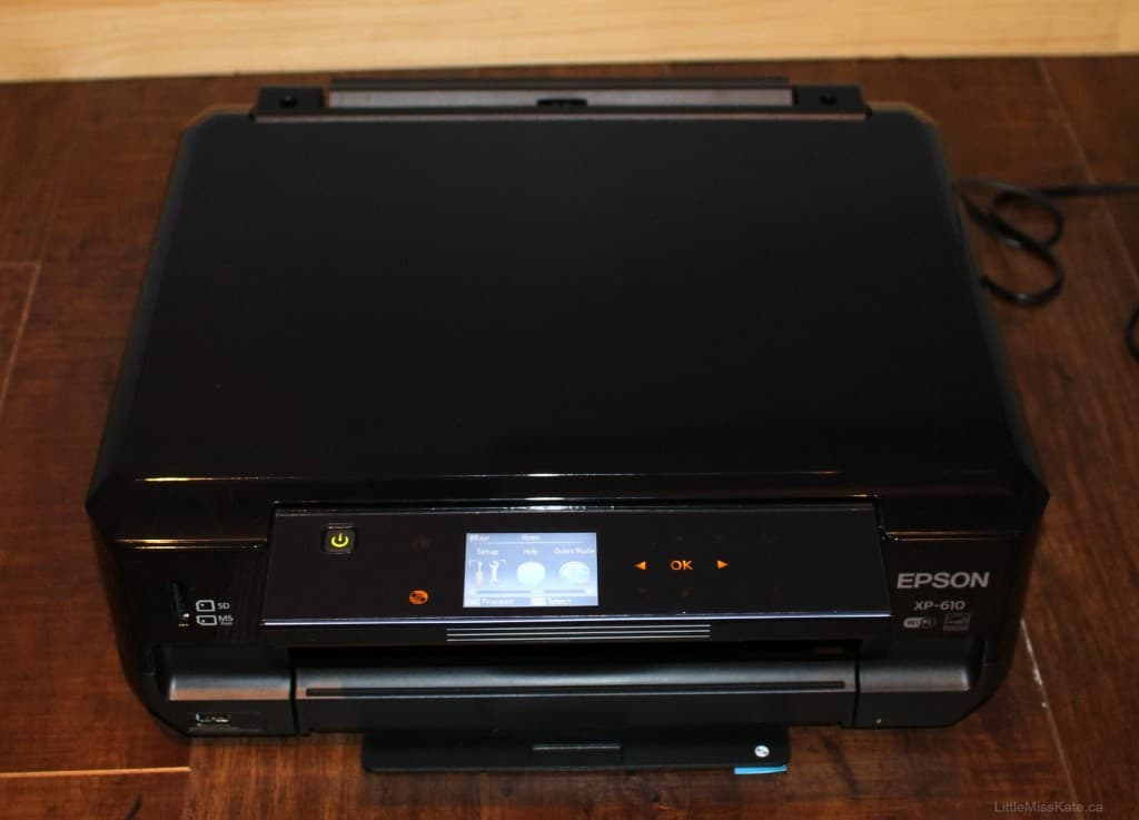 Epson Expression Premium XP-610 Small-in-One Printer Review