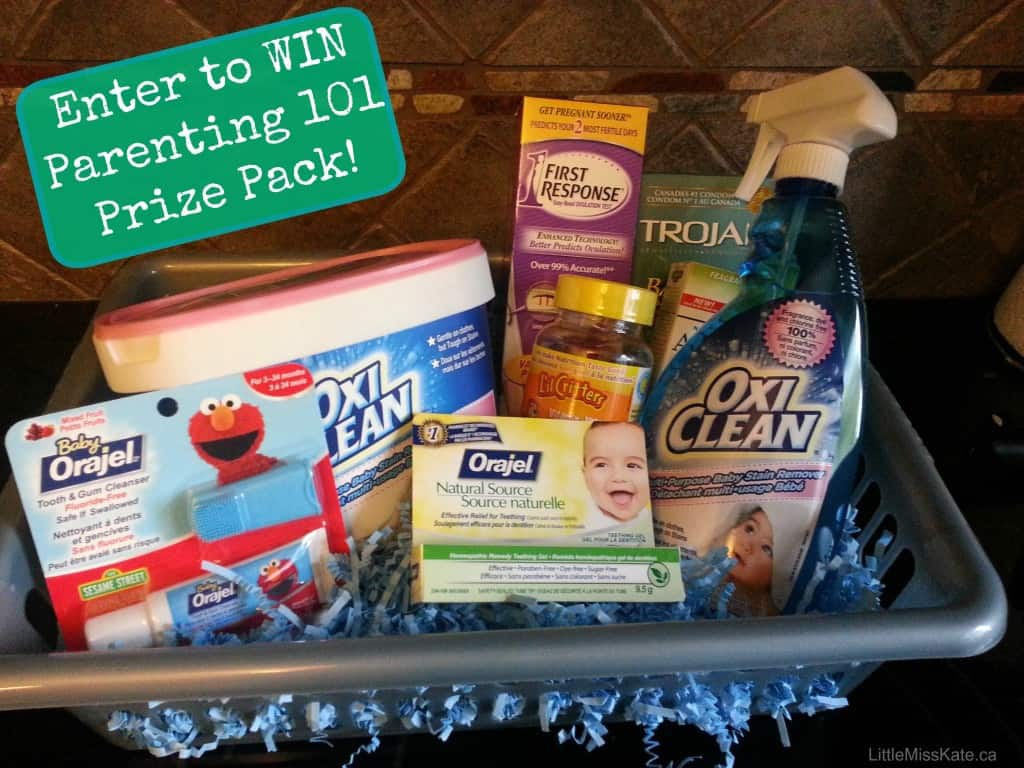Parenting 101 prize pack