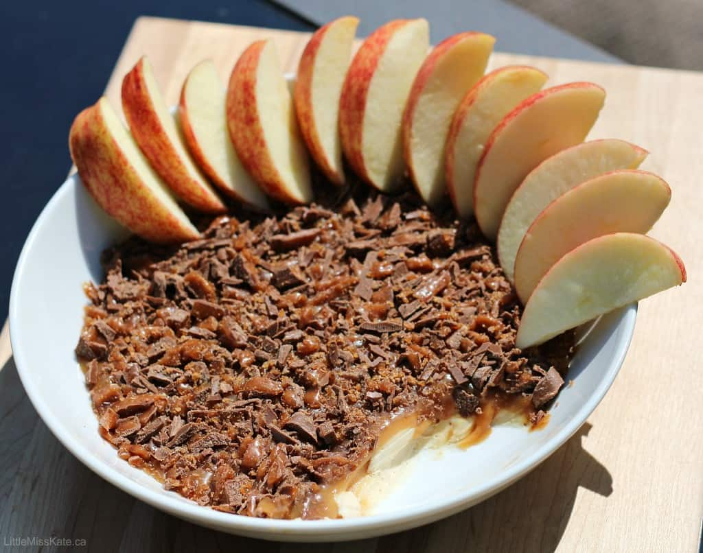 Easy caramel apple dip recipe