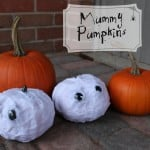 Pumpkin Decorating Ideas – Mummy Pumpkins
