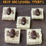 Spooktacular Spider Halloween Treats {Recipe}