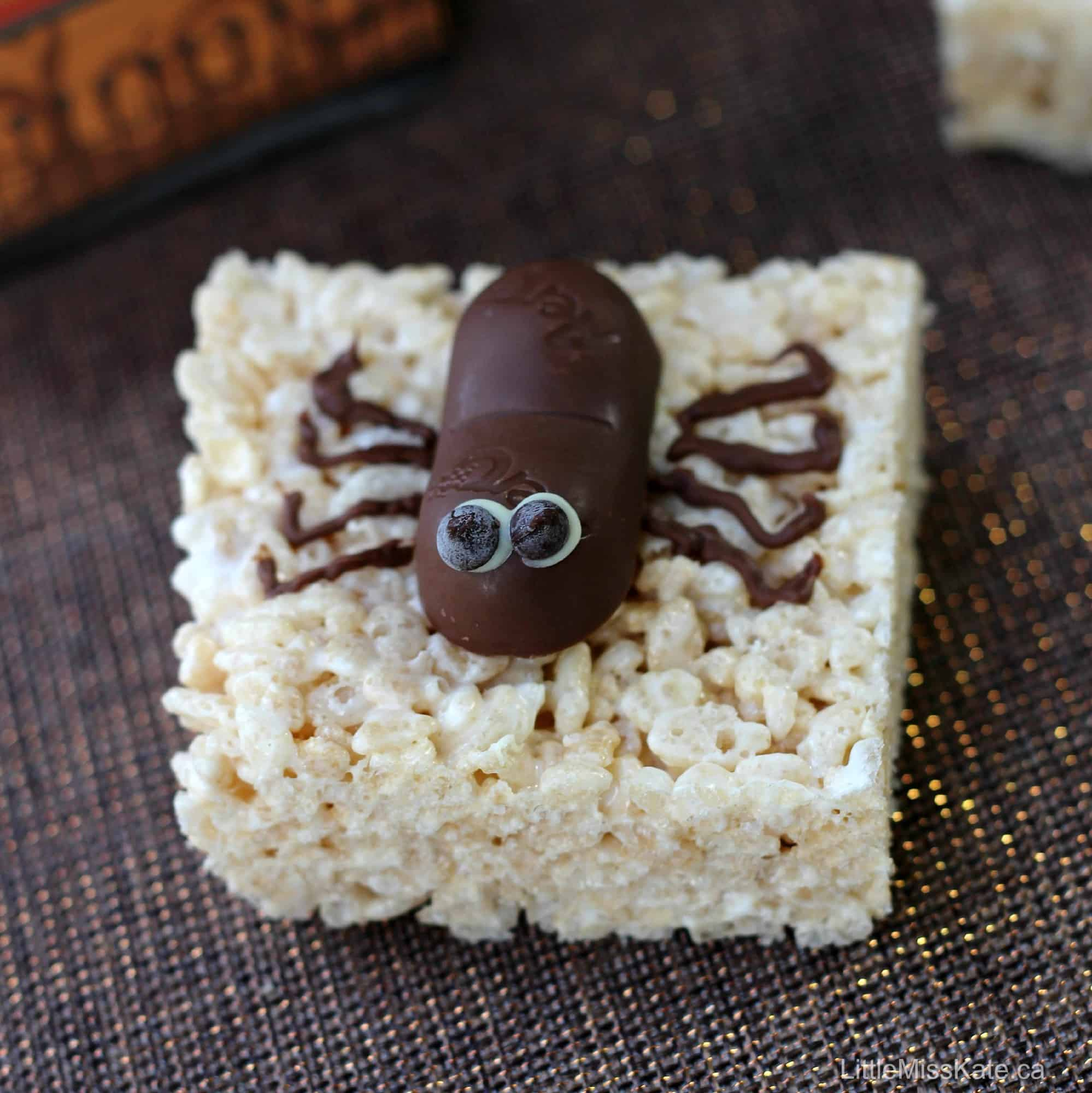 Spooktacular Spider Halloween Treats Recipe - Little Miss Kate