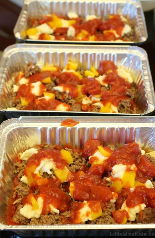 Easy Lasagna Recipe Perfect Freezer Meal Little Miss Kate