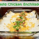Family Favourite Recipe: Fiesta Chicken Enchiladas #whatscooking