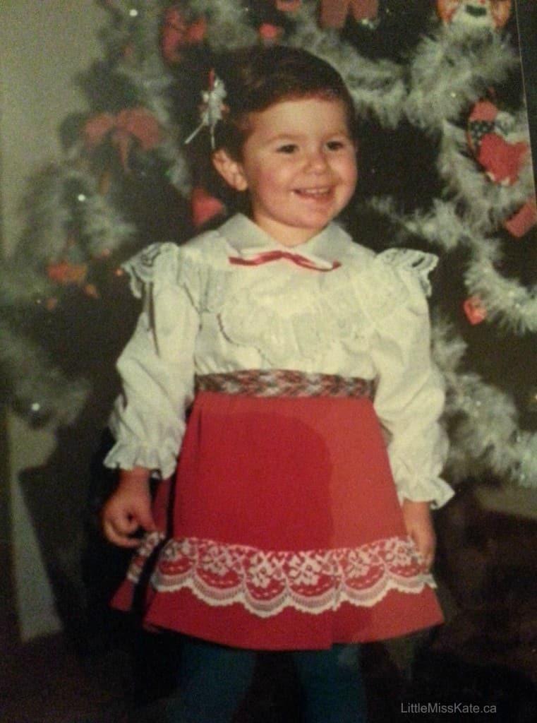 1980s christmas dress