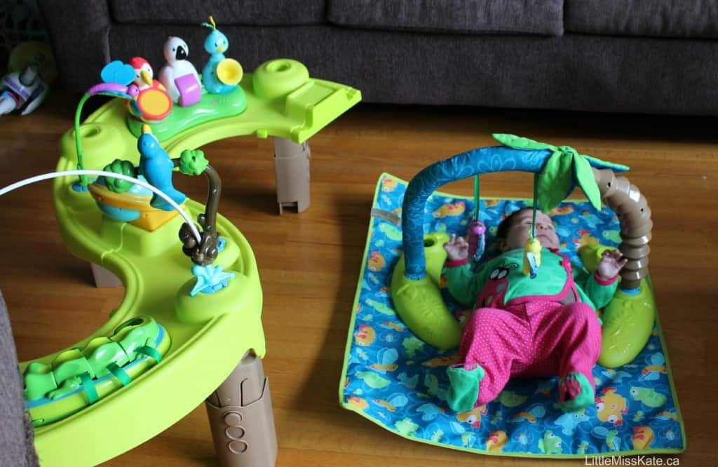 evenflo triple fun exersaucer review
