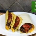 Healthy Dinner Ideas: BBQ Beef Taco Recipe #whatscooking