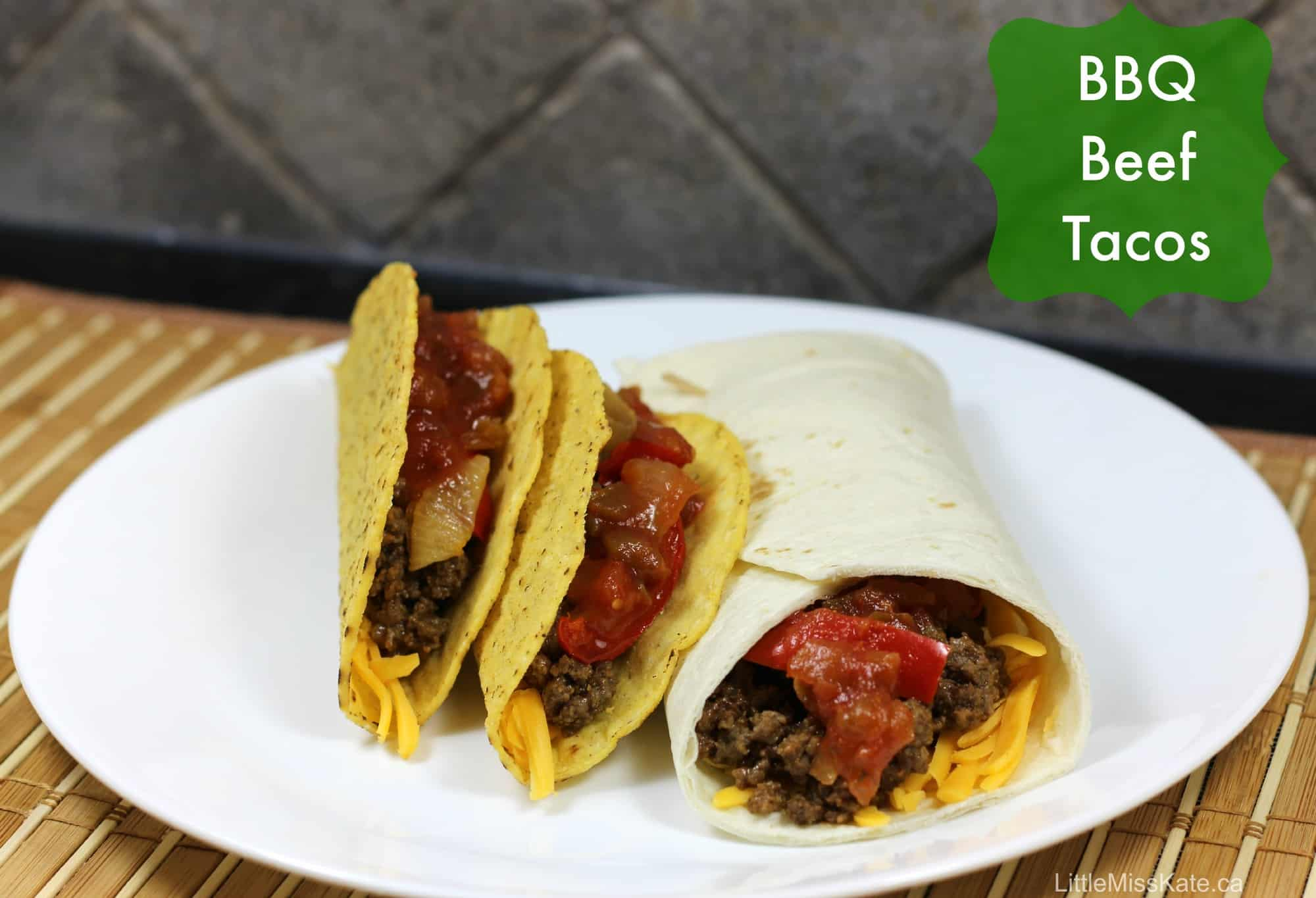 Healthy dinner ideas bbq beef taco recipe whatscooking for Hamburger dinner ideas for tonight