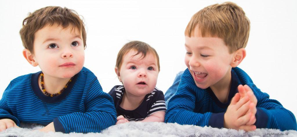 3 kids under 5