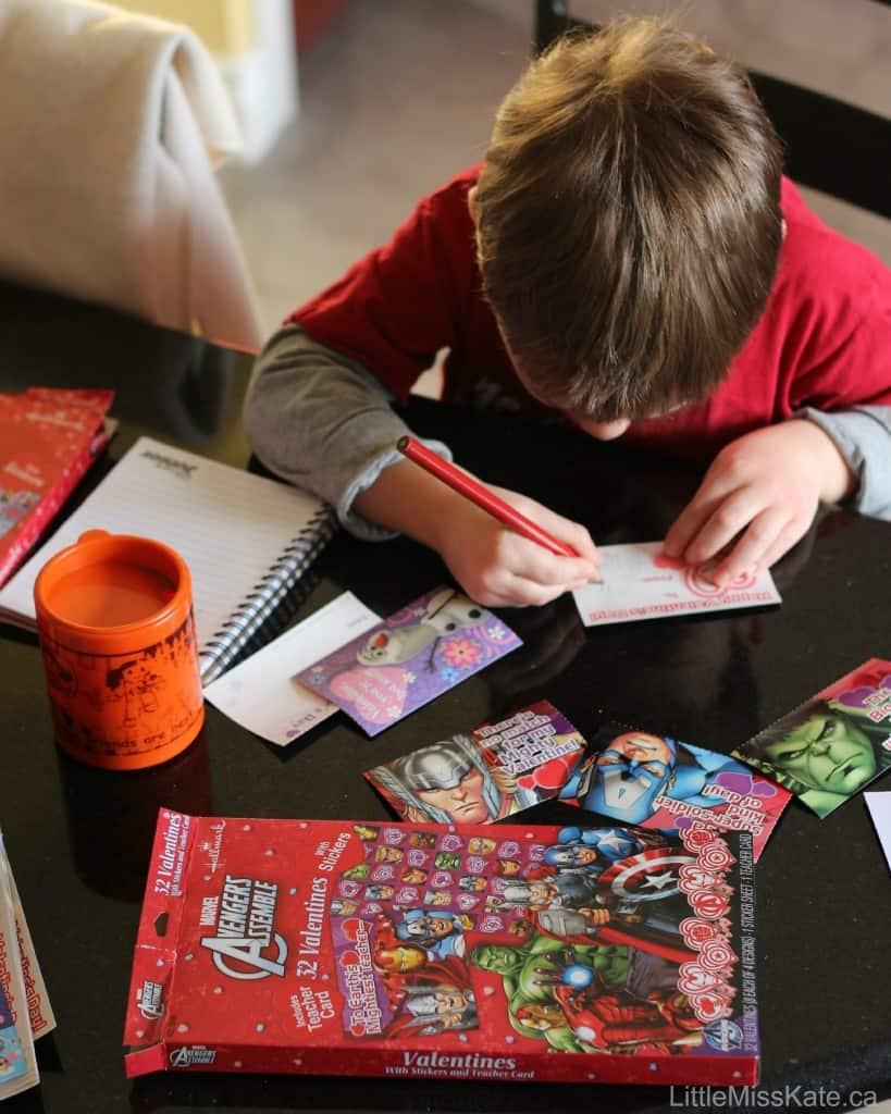 5 Tips to help Children Write Valentines