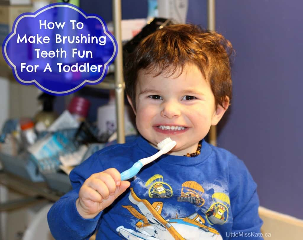 How To Make Brushing Teeth Fun For A Toddler