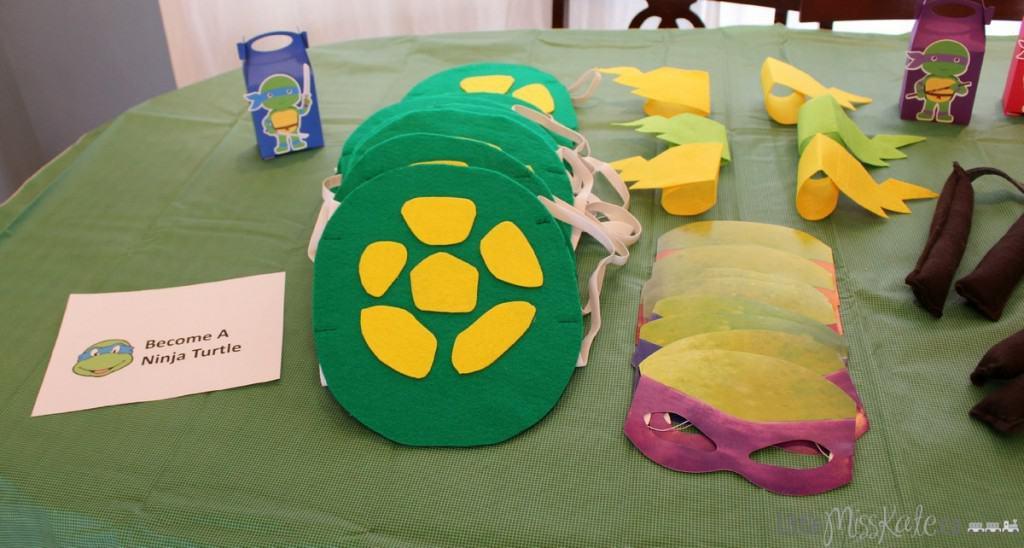 DIY Teeenage Muntant Ninja Turtle Costume