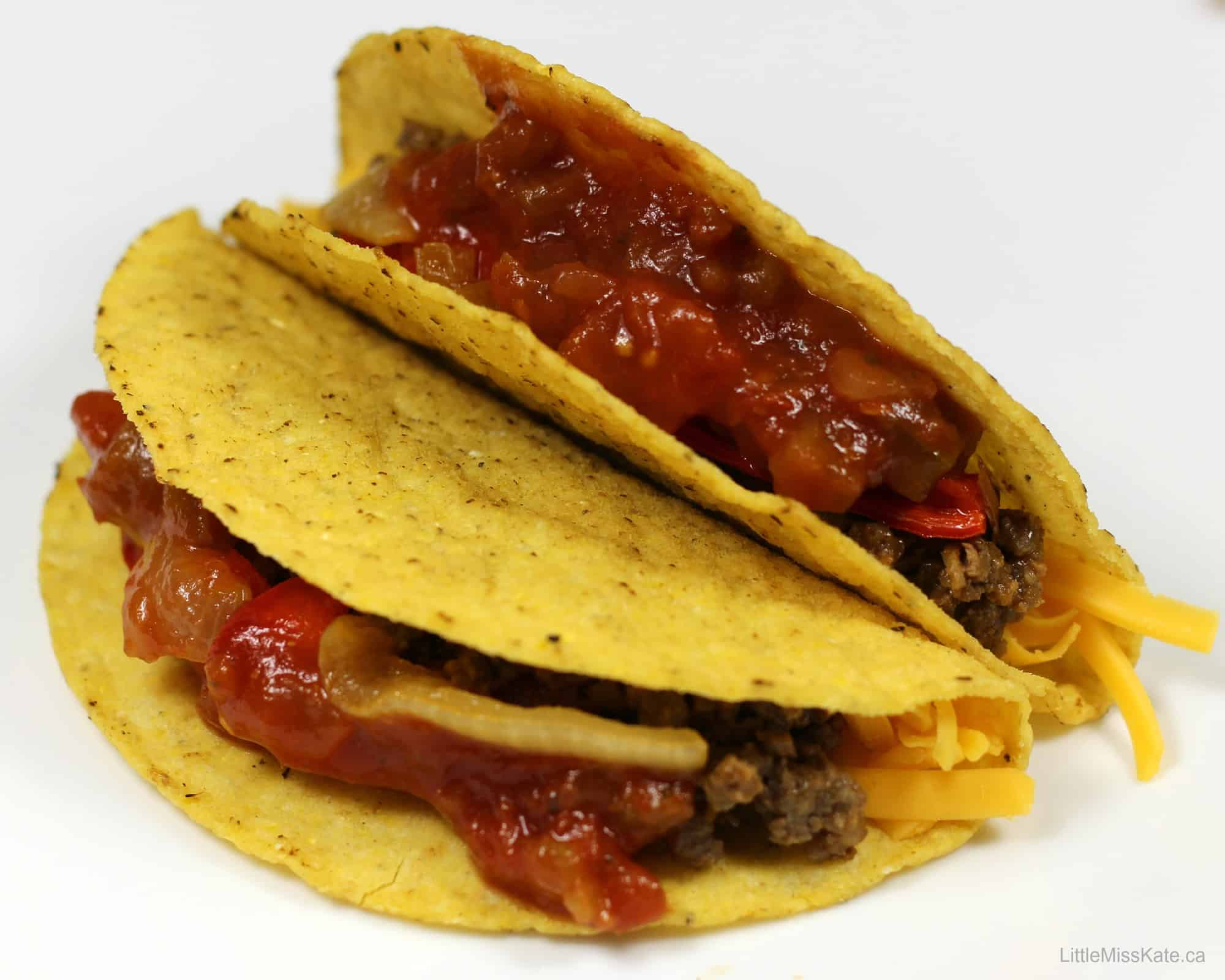 Healthy Dinner Ideas BBQ Beef Taco Recipe whatscooking   Little Miss