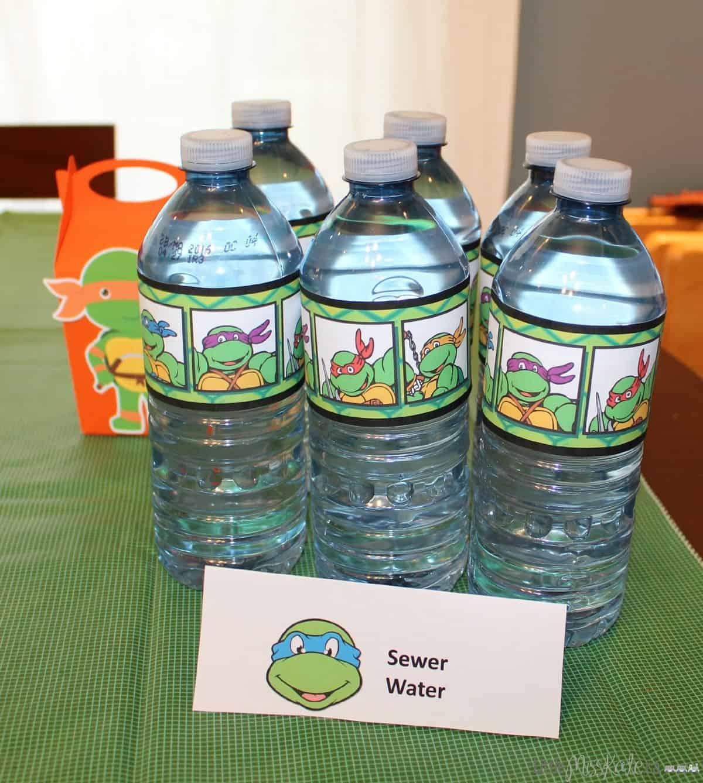 Teenage Mutant Ninja Turtle Party Beverage Ideas