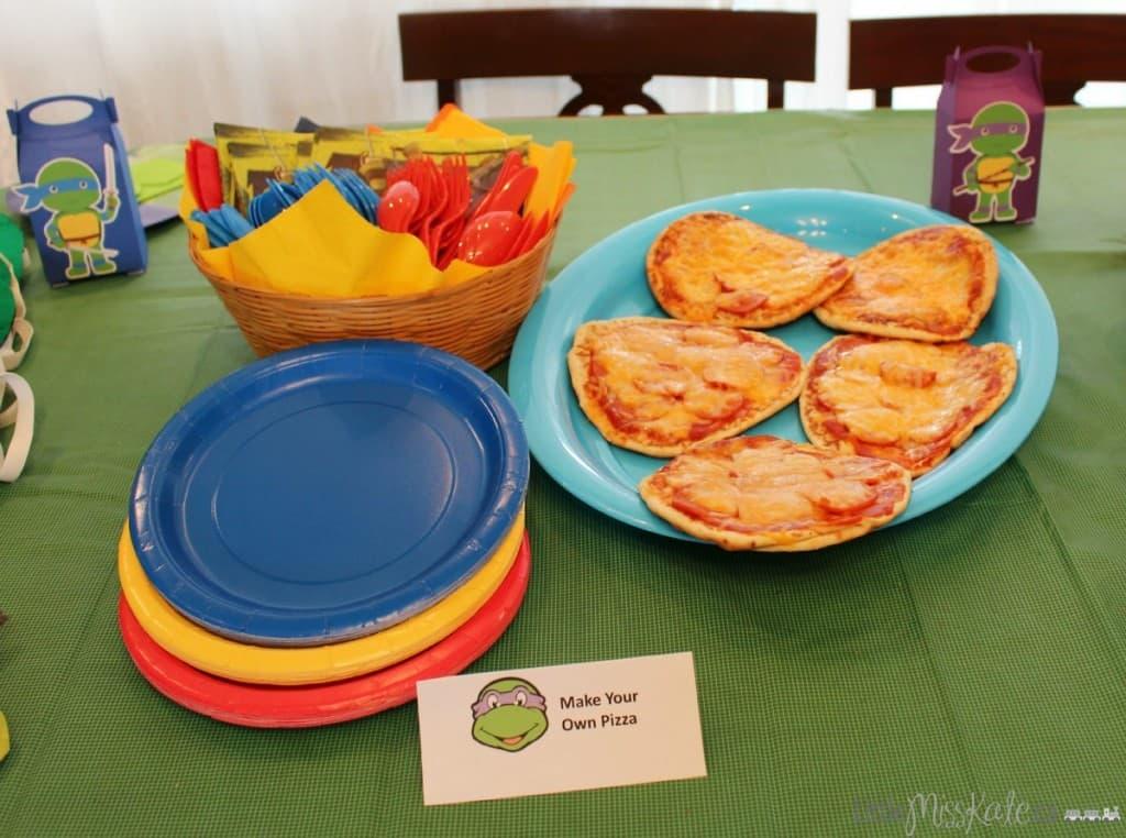 teenage mutant ninja turtle party food ideas