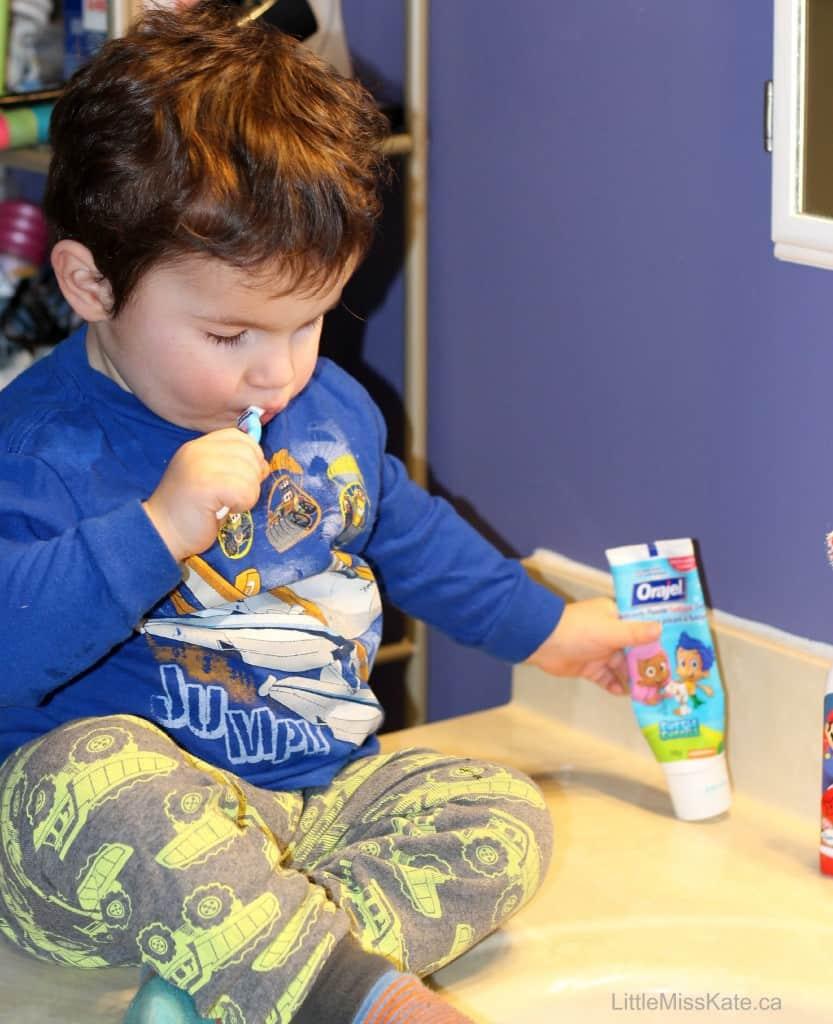 toodler teeth brushing tips