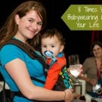 8 Times When Babywearing Can Make Your Life Easier