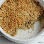 Cauliflower Leek and Bacon Casserole Recipe