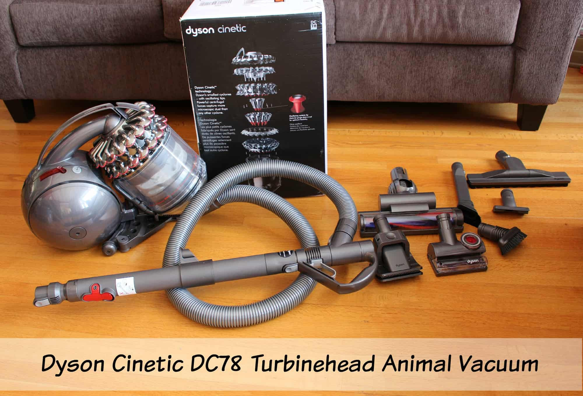 Get Rid of Hair Around Your House – Dyson Cinetic DC78 Turbinehead Animal Vacuum Review