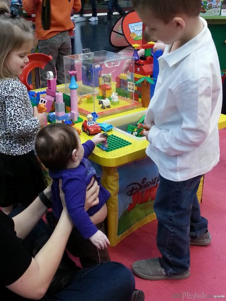 Lego duplo disney junior magic of play mall tour calgary
