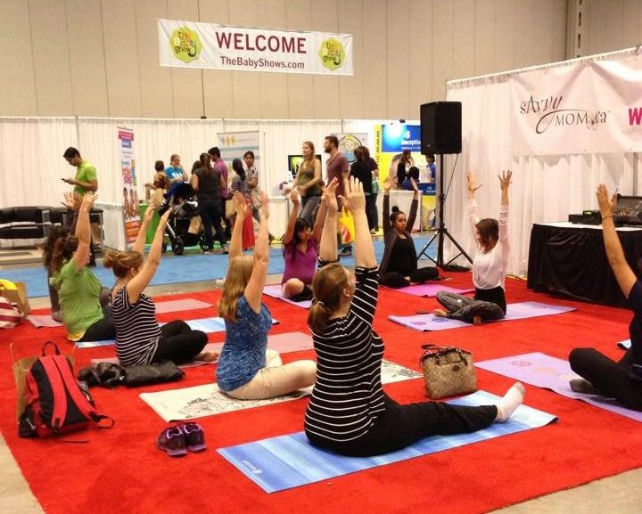 baby show yoga