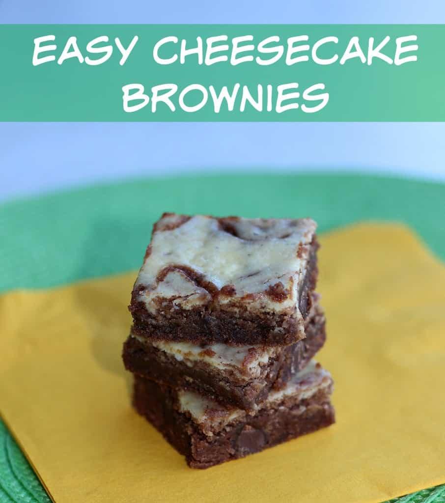 easy cheesecake brownie recipe