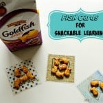 Fish Cards for Snackable Learning – Free Printable Alphabet Flash Cards #GoldfishSmiles