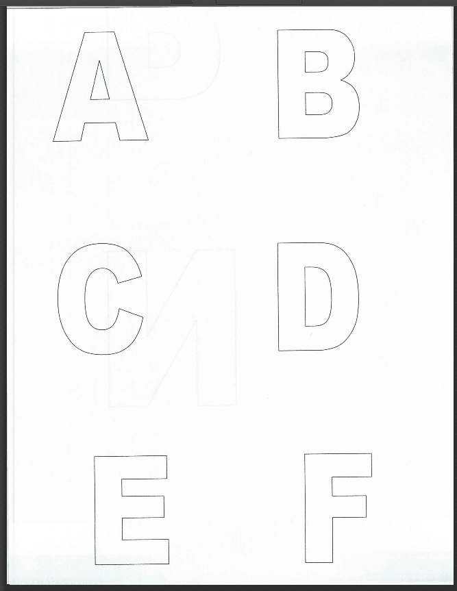 free printable alphabet number flash cards