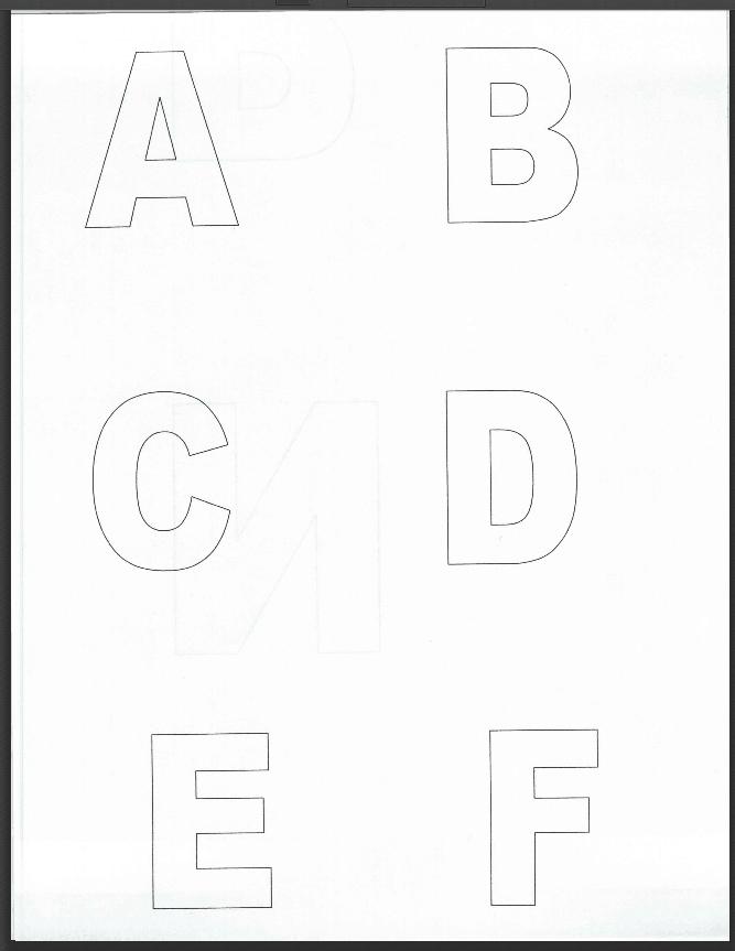 free printable alphabet number flash cards