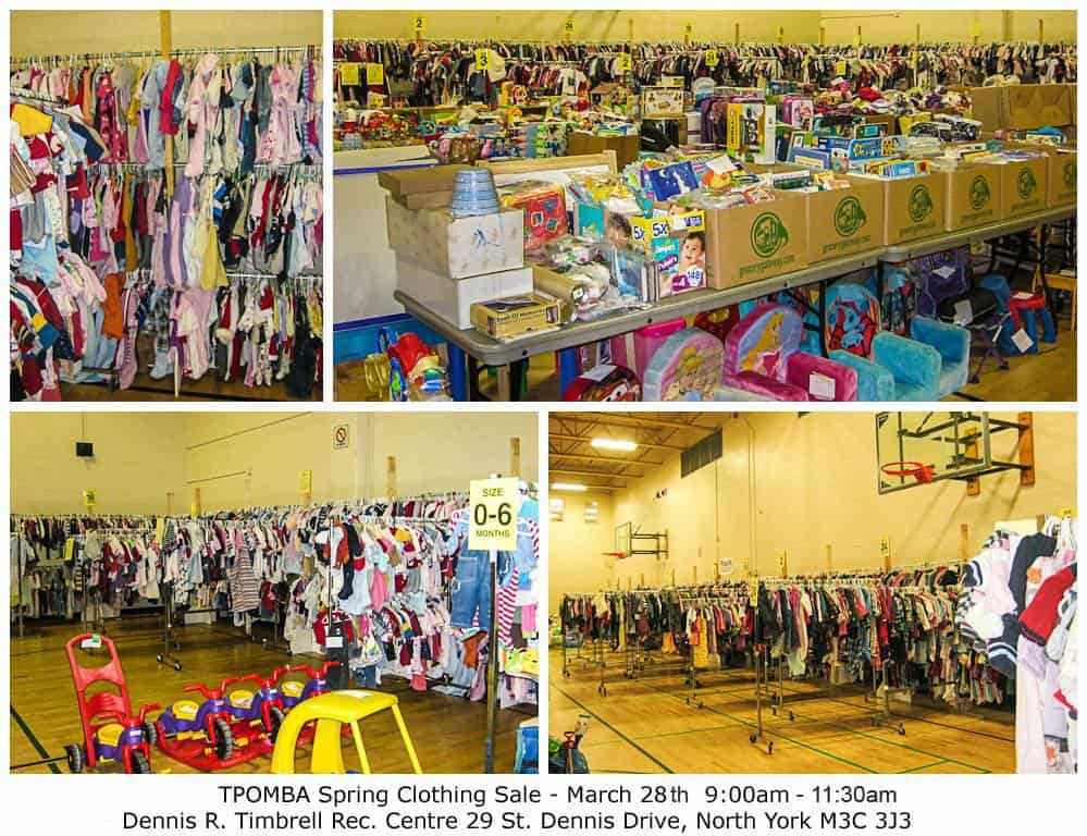 Toronto north york tpomba mom to mom sale march 28 2015