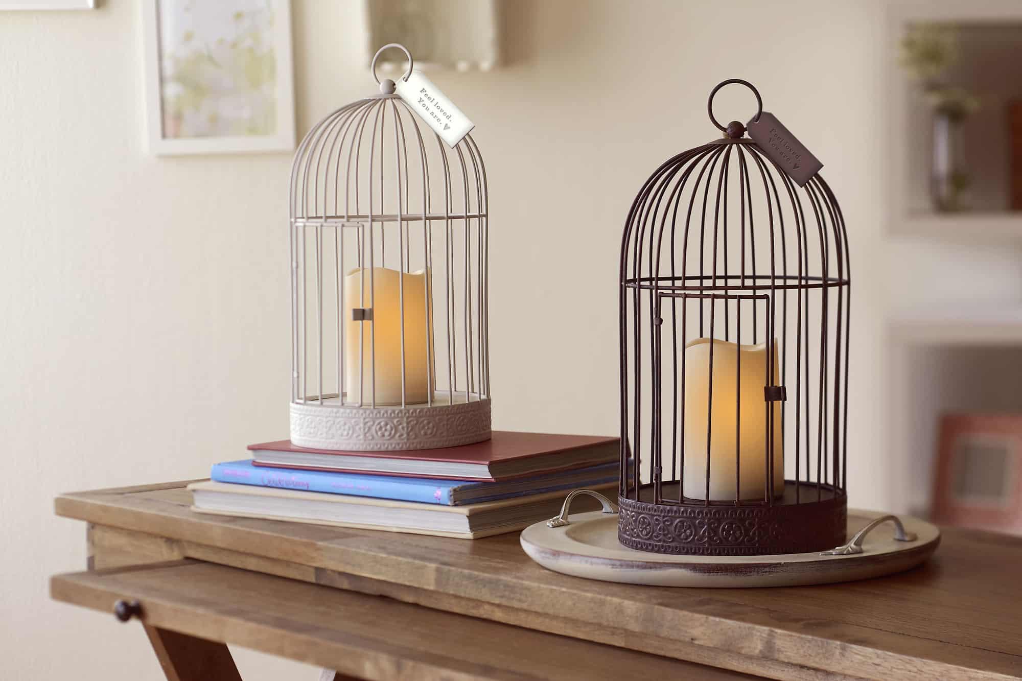Birdcage Lantern - MSRP $24.95