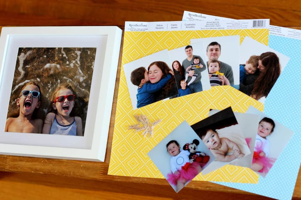 DIY-photo-display-picture-frame-materials