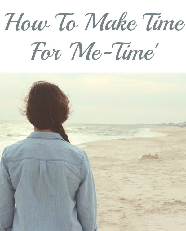 How To Make Time For 'Me-Time'