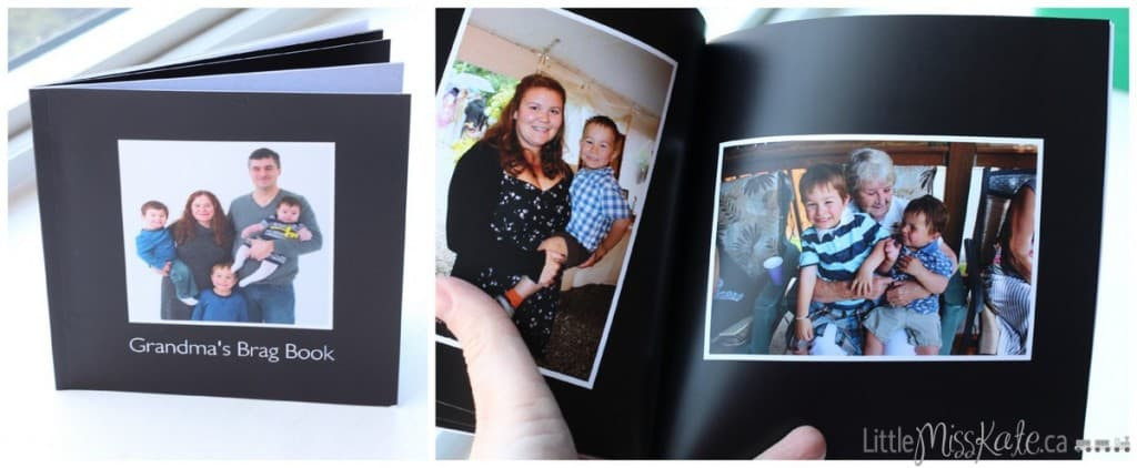 affordable photobook from Blacks - Grandmas Little Brag Book