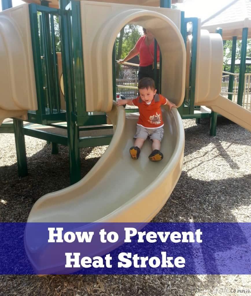 how to prevent heat stroke in kids