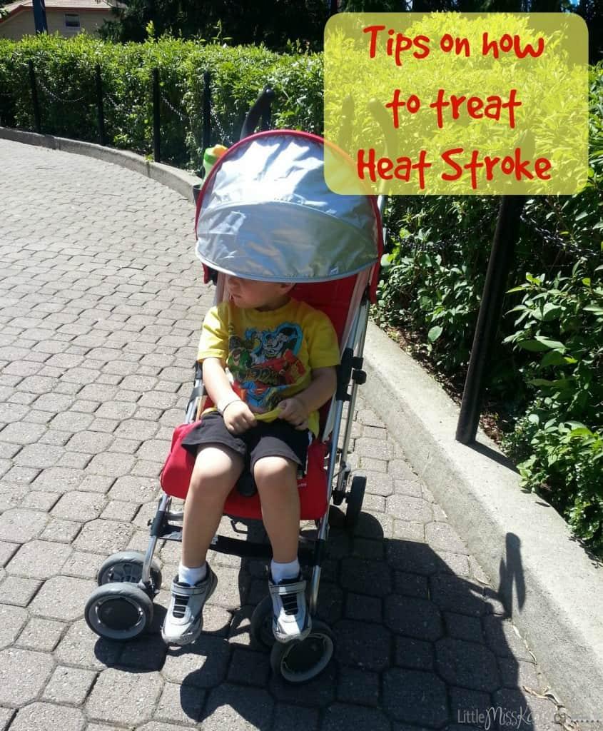 how to treat heat stroke in kids