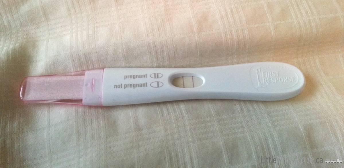 frist response positive pregnancy test