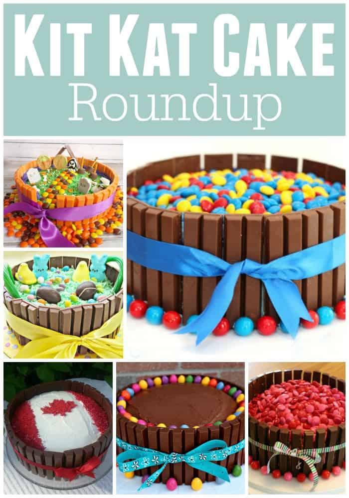 how to make a kit kat Cake recipe Round Up