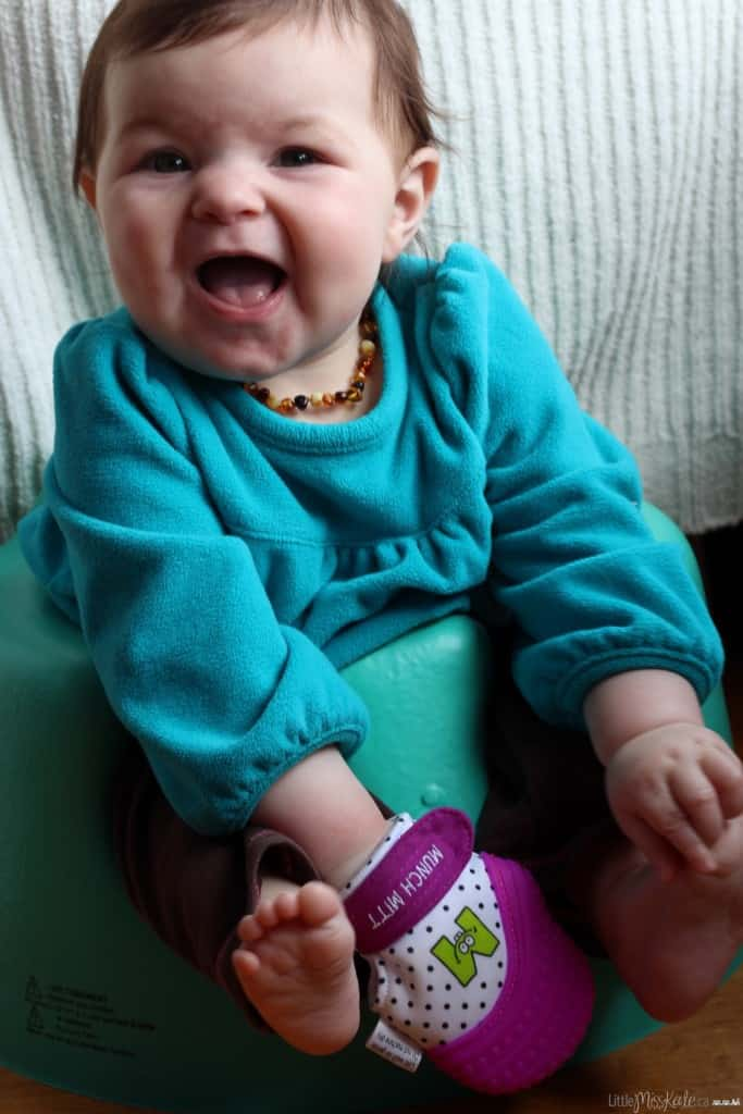 teethers for teething pain munch mitt review photo