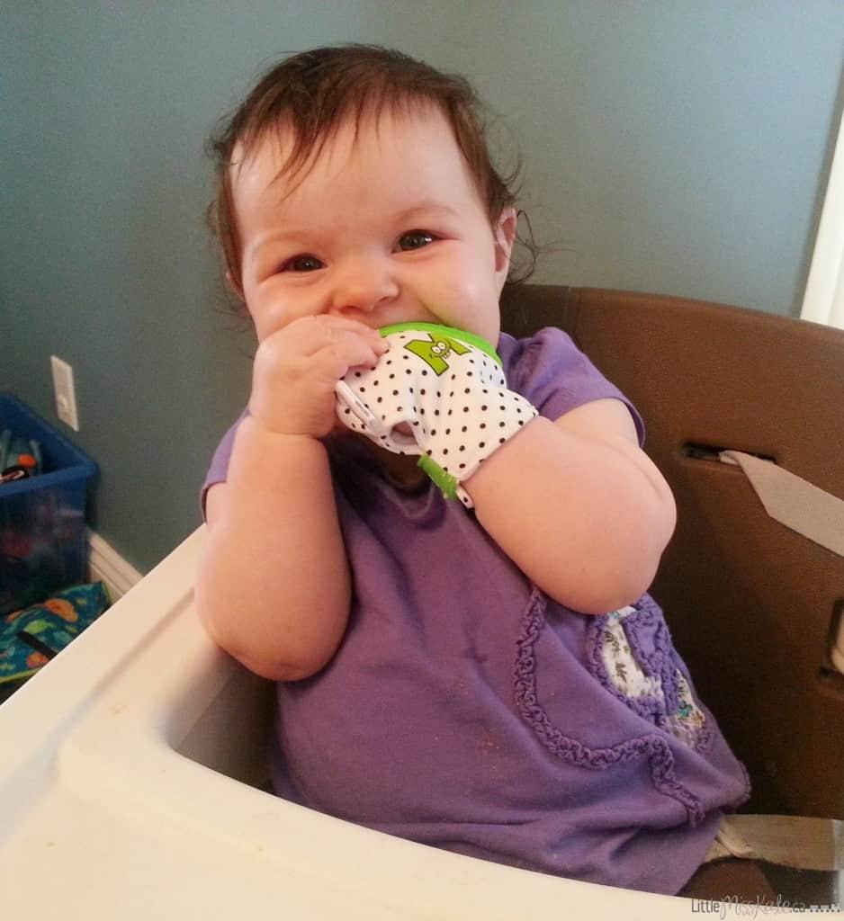 Munch mitt baby teether review baby teething mitten photo