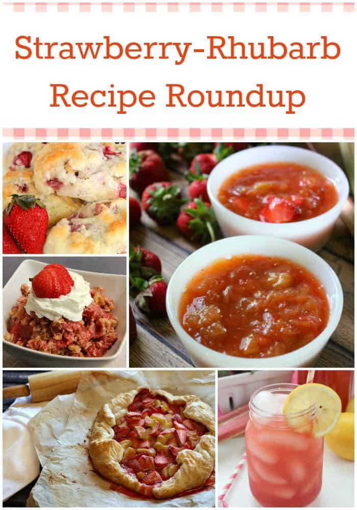 Strawberry-Rhubarb Recipe Roundup