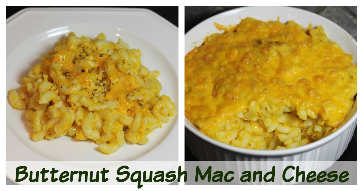 Butternut Squash Mac and Cheese Recipe
