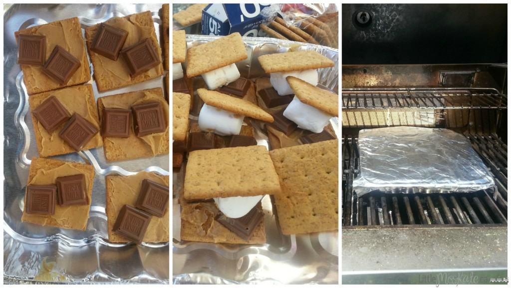 how to make peanut butter smores recipe