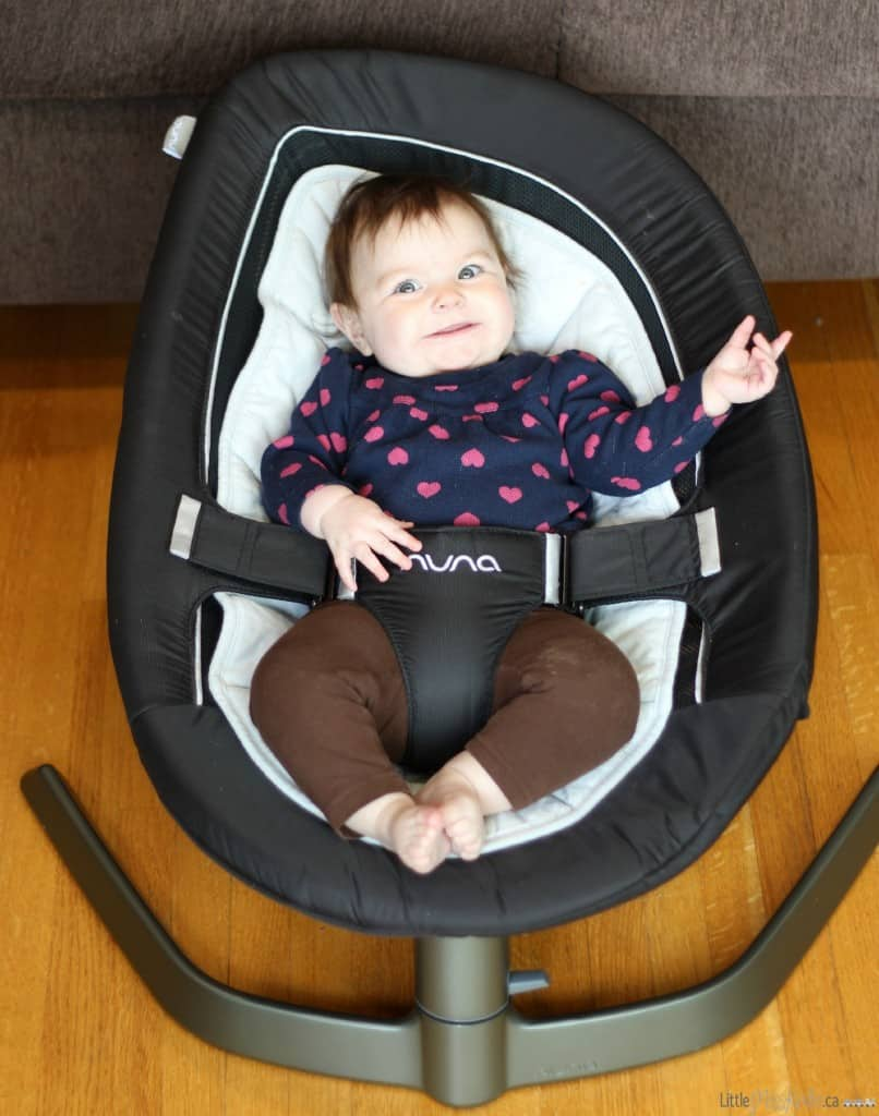 nuna leaf baby bouncer swing seat review