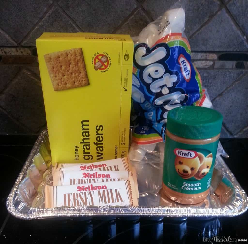 peanut butter smores ingredients